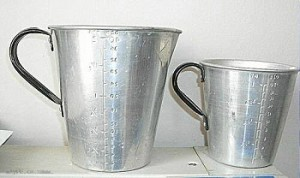 Aluminium Measuring Jugs