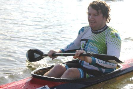 Varsity College student Jonty Dobrowsky participating in the 2014 Breakfast Series.