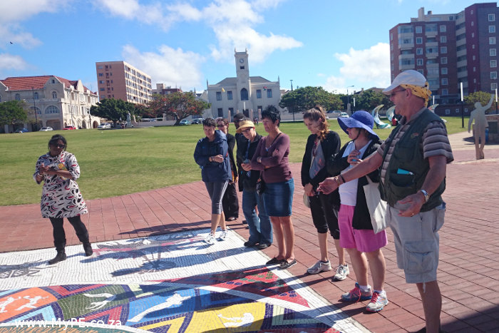 The Mosaic on the Donkin Reserve