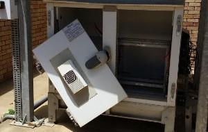 Vandalised Vodacom Base Station