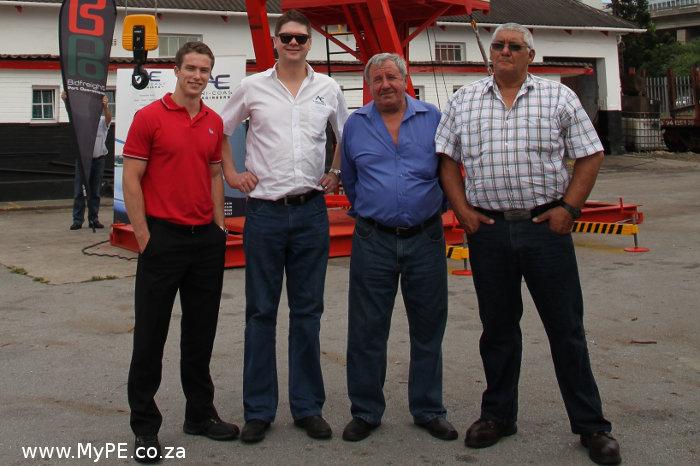 Africoast Engineers Crane