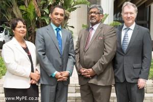 New NMMU Vice Chancellors