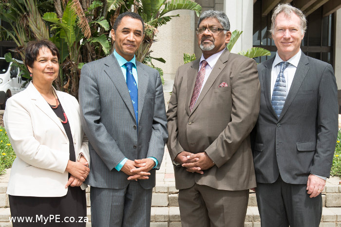 New NMMU Vice Chancellors
