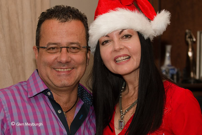 Warwick Dickie and Kobie Potgieter