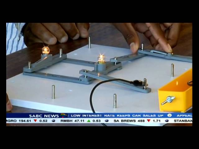 A teenage inventor from Motherwell in Port Elizabeth is certainly going places.