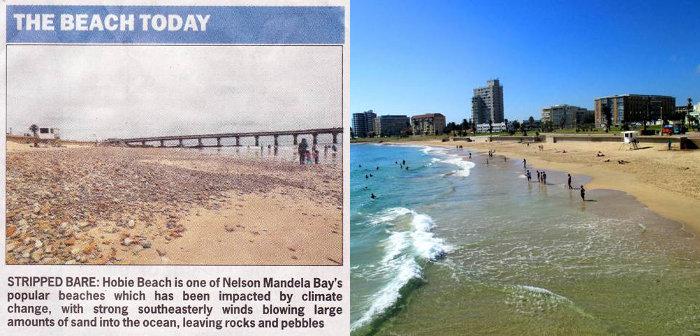 Hobie Beach Climate Change