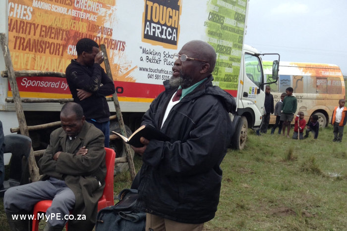 Touch Africa Truck