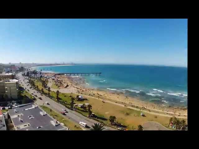 Port Elizabeth Beachfront timelapse 31 12 2014 to  02 01 2015
