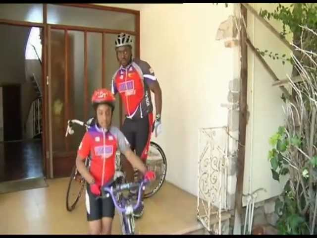 Young biker girl makes a difference in Port Elizabeth