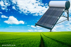 Solar Water Heater Green Energy