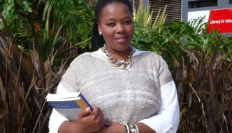 Nelson Mandela Metropolitan University (NMMU) Human Resource Management student Banele Ndarala - the latest recipient of a R15 000 Businesswomen's Association bursary - aims to make it big in the business world.