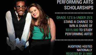 ACT DALRO Nedbank Performing Arts Scholarships 2015
