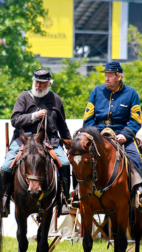 PE Image – Civil War Reenactment