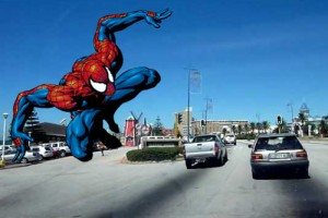 Marine Drive Spiderman