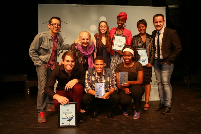 Finalists and judges at the 2015 ACT| DALRO | Nedbank Performing Arts Scholarships Awards at the Market Theatre. Picture by Debbie Yazbek
