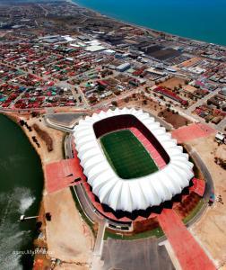 Stadium Aerial Construction