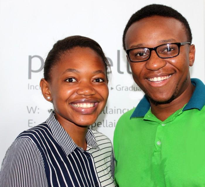 Thulisile Volwana and Sabelo Sibanda