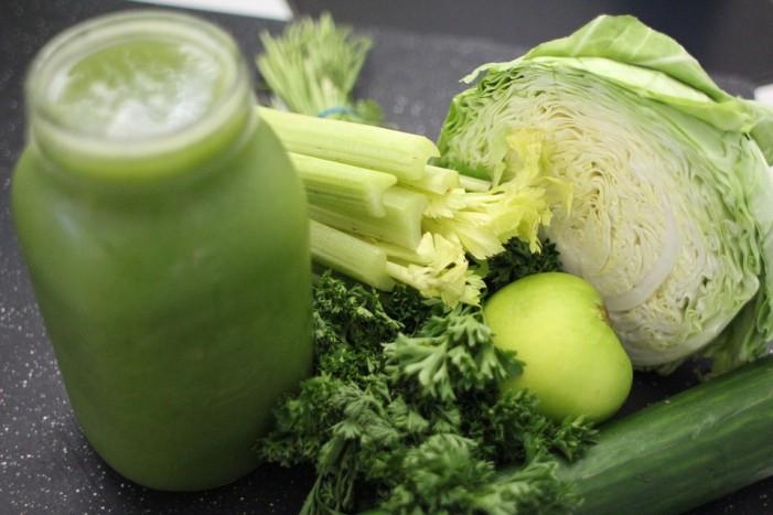 Homemade Green Juice
