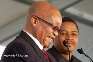 Jacob Zuma and Mlibo Qoboshiyane