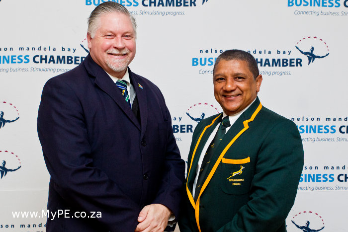 Kevin Hustler and Allister Coetzee