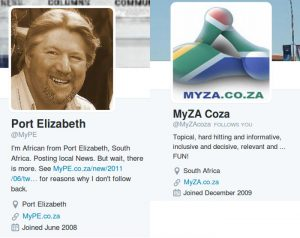 MyPE MyZAcoza Twitter Account