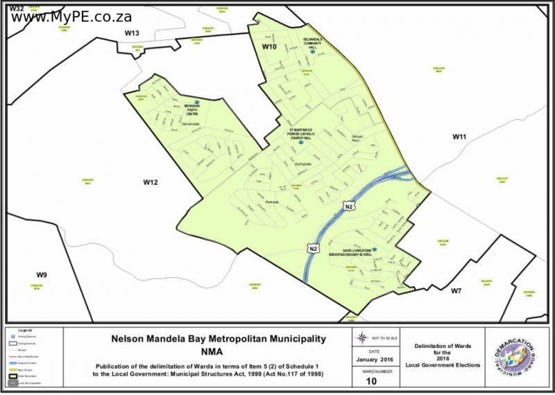 Nelson Mandela Bay Ward Maps