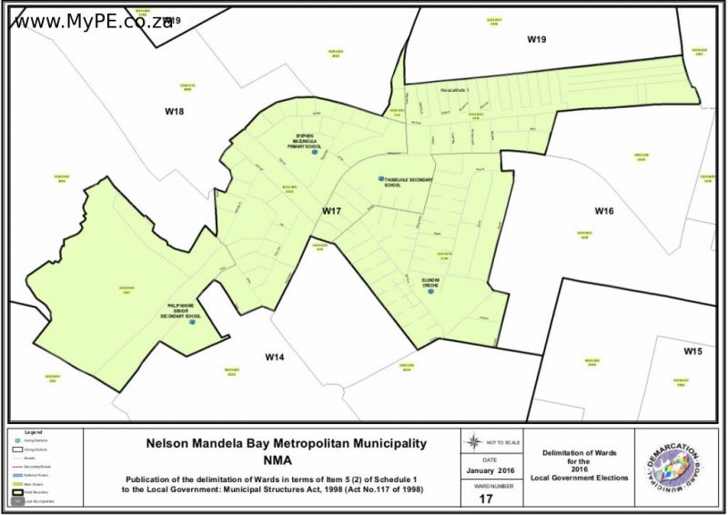 Nelson Mandela Bay Ward Maps