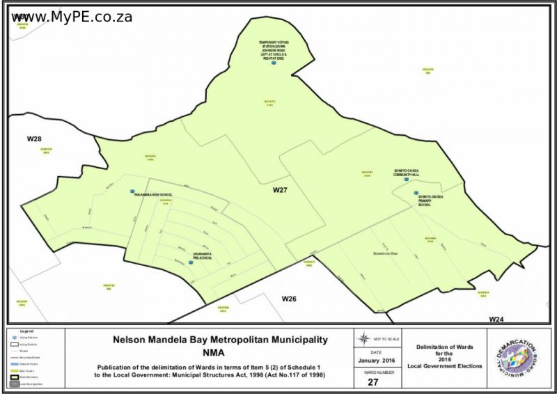 Ward 27: Zwide, Soweto on Sea