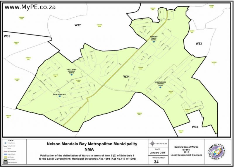 Ward 34: Bethelsdorp, West End
