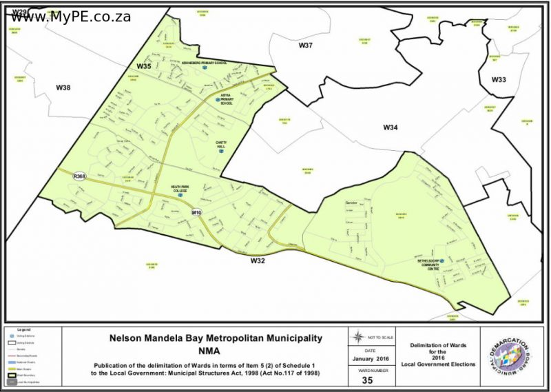 Ward 35: Chatty, Heath Park, Bethelsdorp