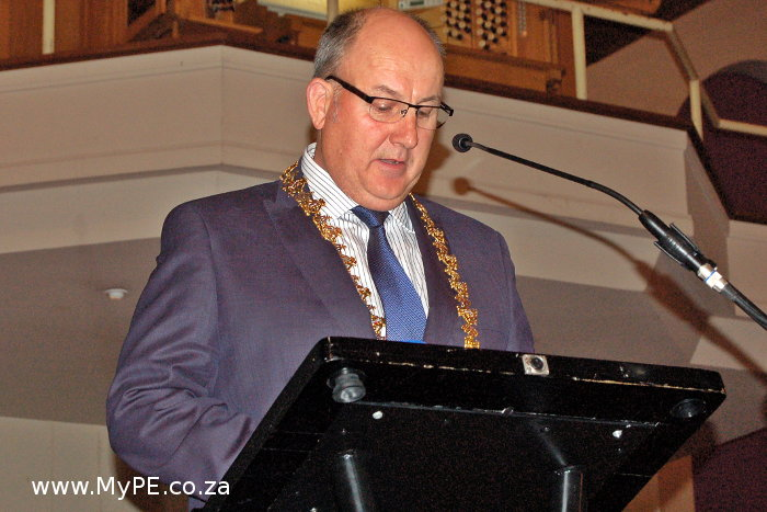 Athol Trollip Mayoral Chains