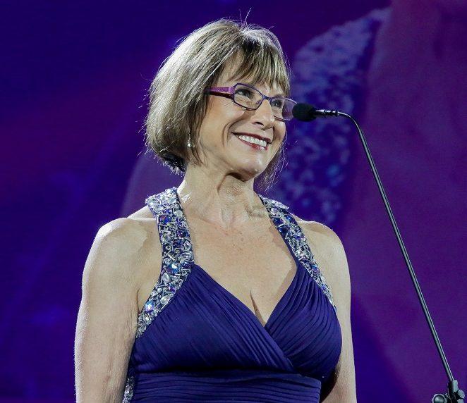 Dawn Lindberg at the 2016 Naledi Theatre Awards