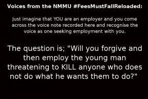 #FeesMustFallReloaded