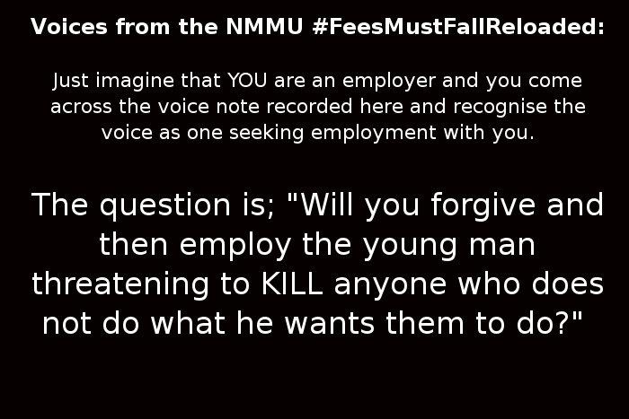 #FeesMustFallReloaded