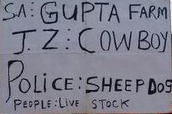 Gupta Farm Placard