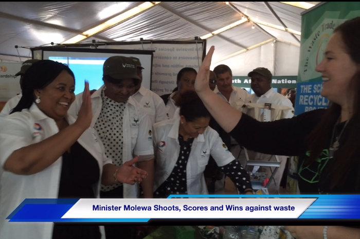 Edna Molewa Wins Waste Trade Company