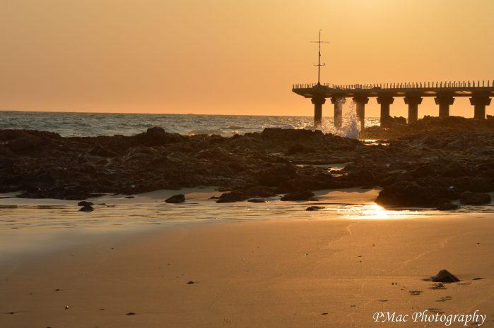 PE Pier Under Construction. PMac Photography