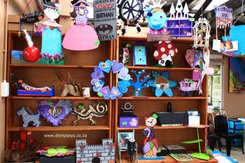 """Examples of amazing crafts that can be made at """"a peace of art"""""""