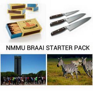 NMMU Starter Braai Pack