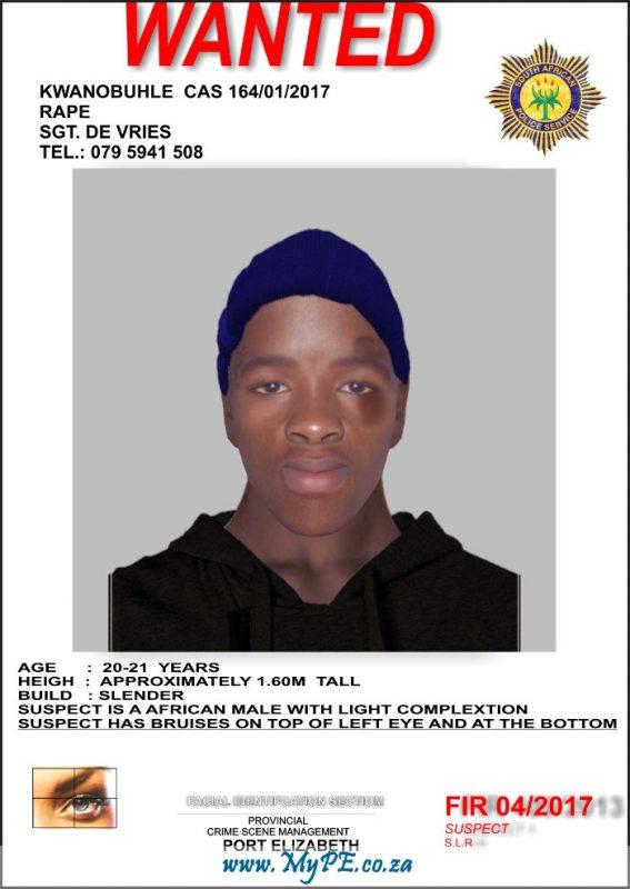 Rape Suspect Indentikit