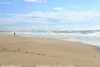adventurer zakie odendaal solo walk sa coastline