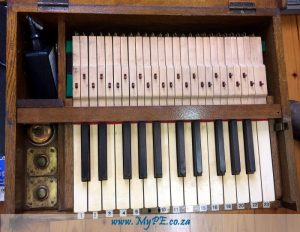 100 Year-Old Keyboard