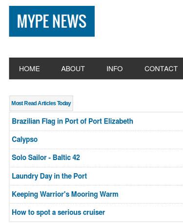 MyPE Most Read Screenshot