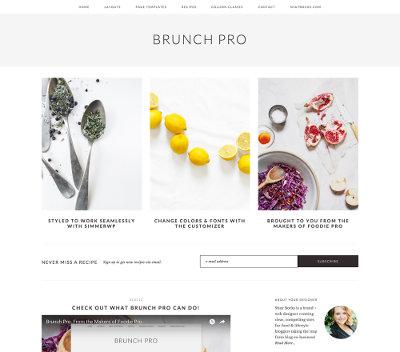 Studiopress Sites Brunch Pro