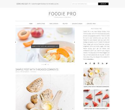 Studiopress Sites Foodie Pro