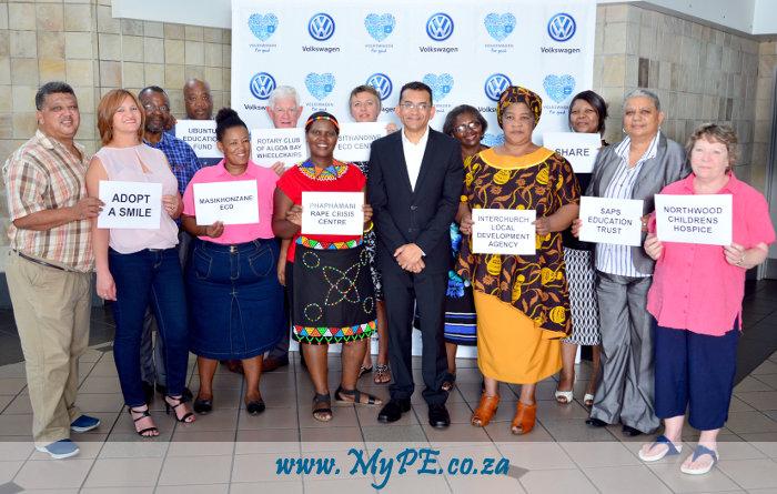 VWSA Community Trust cheque handover