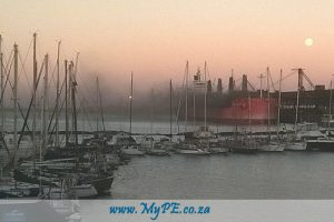 PE Waterfront Manganese Ore Cloud