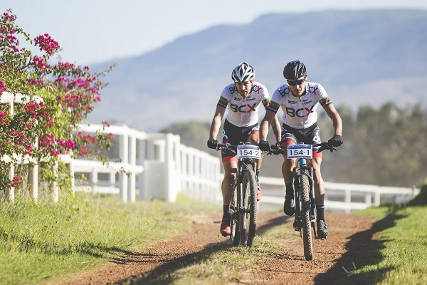 BCX's Waylon Woolcock (left) and HB Kruger will target overall victory at the PwC Great Zuurberg Trek mountain bike race, which takes place at the Zuurberg Mountain Village near Port Elizabeth next month. Photo: Photo: Ewald Sadie