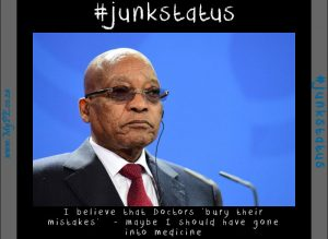 Sad Zuma Junkstatus