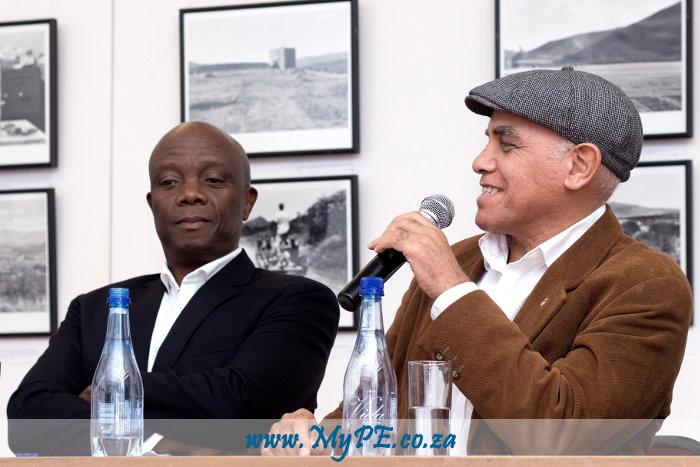 Sonwabile Mancotywa and Cedric Nunn